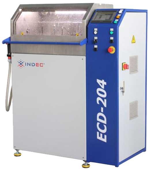 Установка электрохимический для снятия заусенцев модели ECD 204