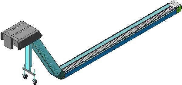 Конвейер для уборки стружки со станка параметры давления элеватора